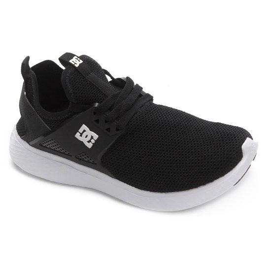 Tênis DC Shoes Meridian - Preto+Branco