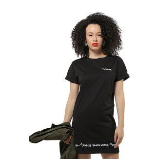 Vestido Starter Black Label Lettering